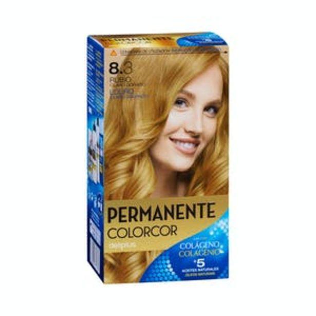 Oferta de Coloración permanente 8.3 rubio claro dorado Deliplus por 3,9€