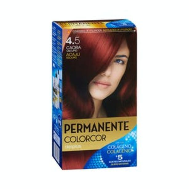 Oferta de Coloración permanente 4.5 caoba oscuro Deliplus por 3,9€