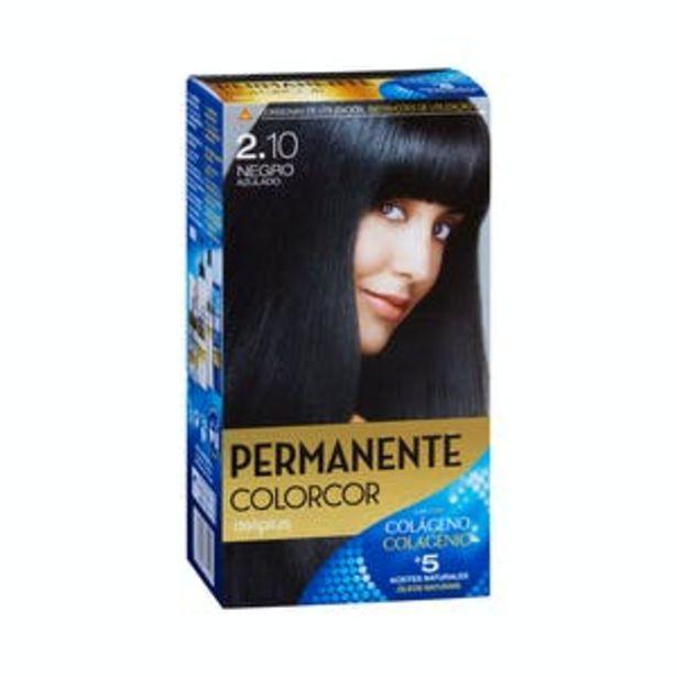 Oferta de Coloración permanente 2.10 negro azulado Deliplus por 3,9€