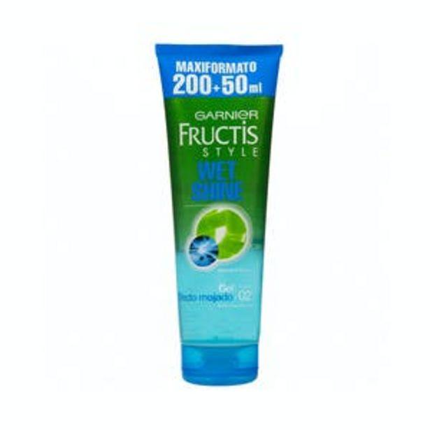 Oferta de Gel fijador cabello Wet Shine Fructis fuerte 02 por 2,75€