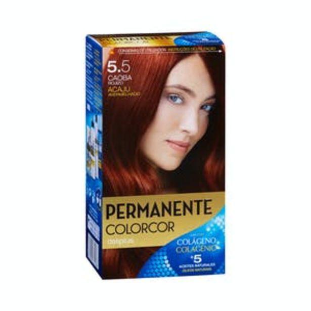 Oferta de Coloración permanente 5.5 caoba rojizo Deliplus por 3,9€