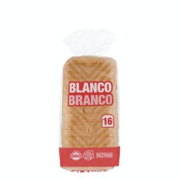Oferta de Pan de molde blanco Hacendado por 0,59€
