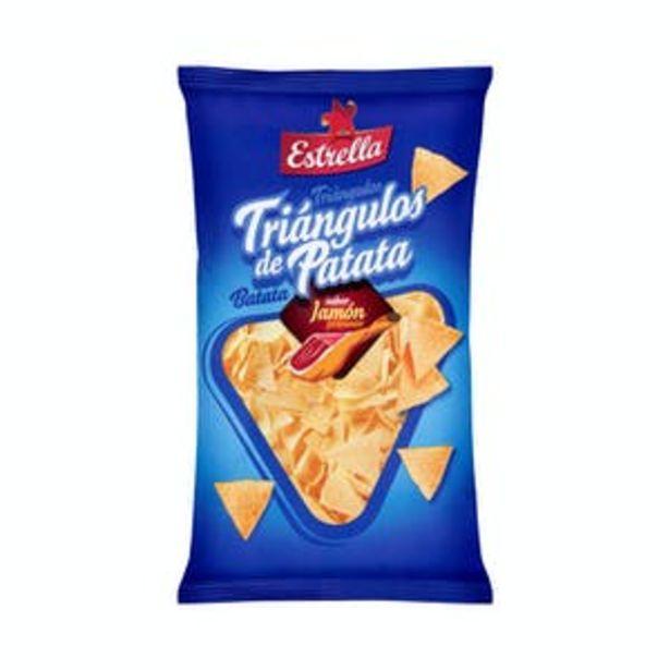 Oferta de Triángulos de patata Estrella sabor jamón por 1,1€