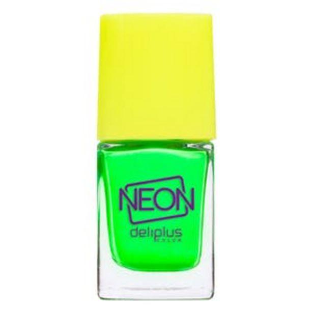 Oferta de Laca de uñas Neon Deliplus 986 verde por 2,5€