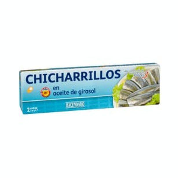 Oferta de Chicharrillos en aceite de girasol Hacendado por 1,5€
