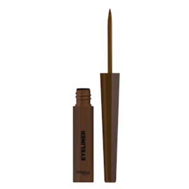 Oferta de Perfilador de ojos Eyeliner Deliplus marrón 01 por 3,5€