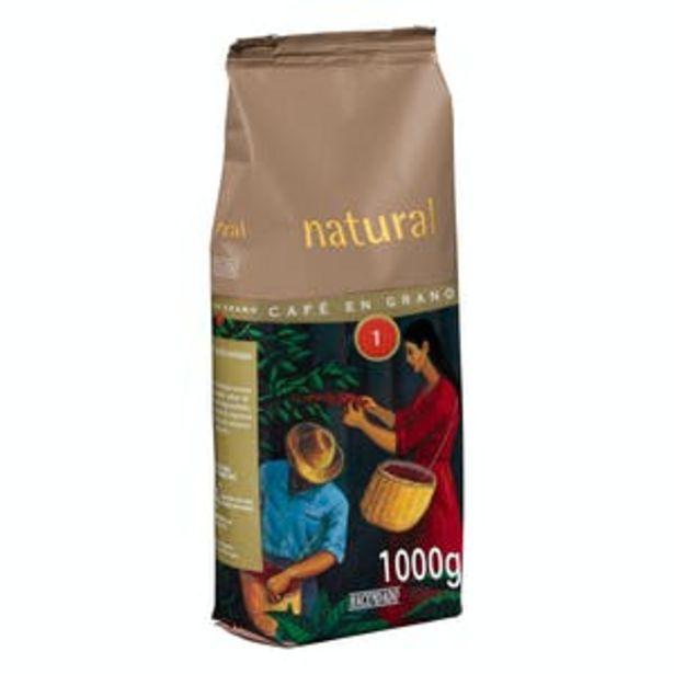 Oferta de Café en grano natural Hacendado por 5,8€