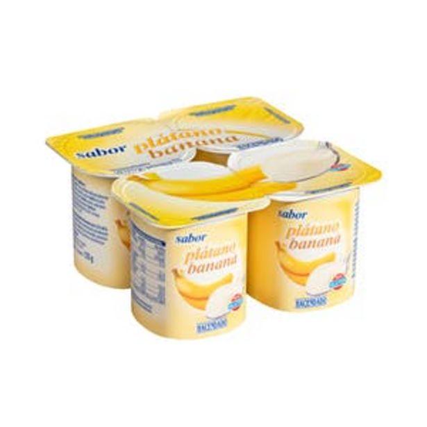 Oferta de Yogur sabor plátano Hacendado por 0,47€
