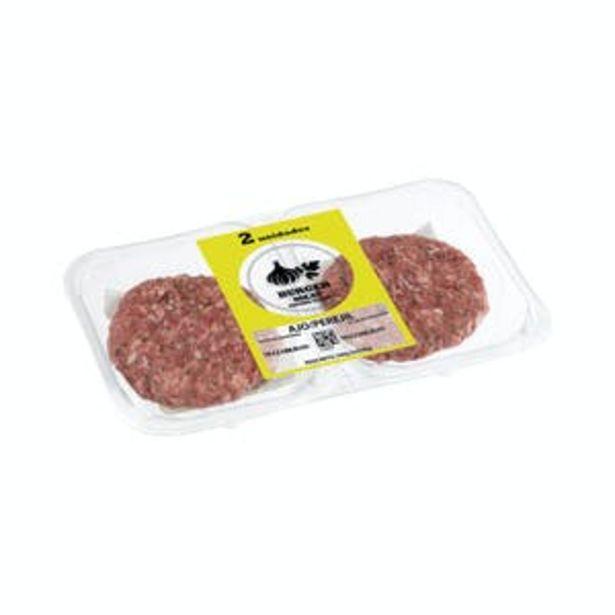 Oferta de Burger de vacuno y cerdo con ajo y perejil por 2€