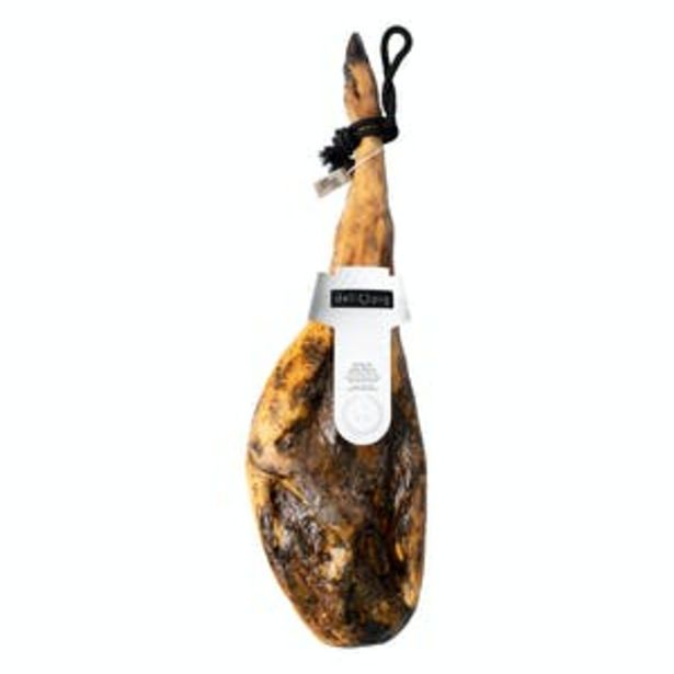 Oferta de Jamón de cebo ibérico Delipig 50% raza ibérica por 99€