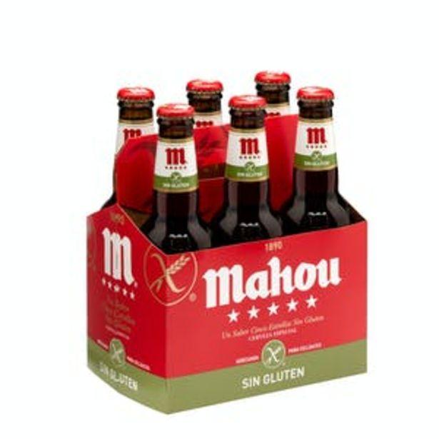 Oferta de Cerveza sin gluten Mahou por 5,76€