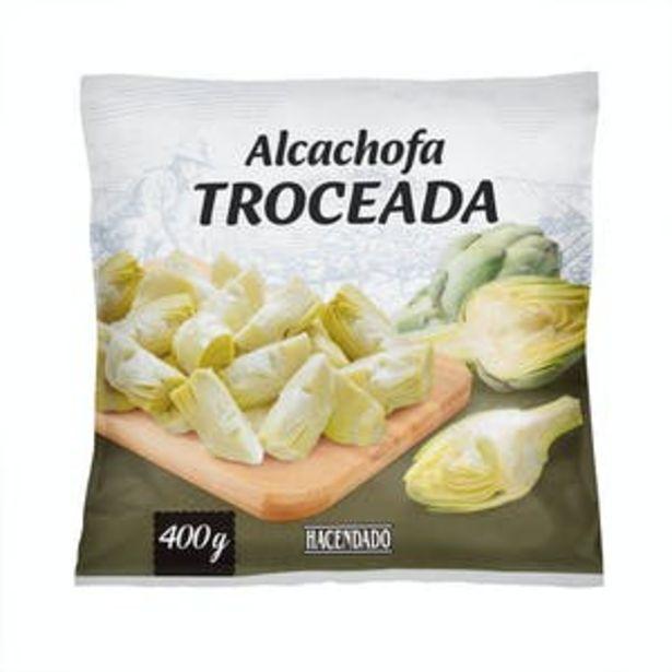 Oferta de Alcachofa troceada Hacendado ultracongelada por 1,7€