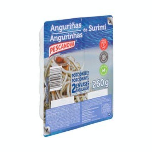 Oferta de Anguriñas de surimi Pescanova ultracongeladas por 1,99€