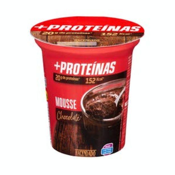 Oferta de Mousse + proteínas sabor chocolate Hacendado por 1,35€