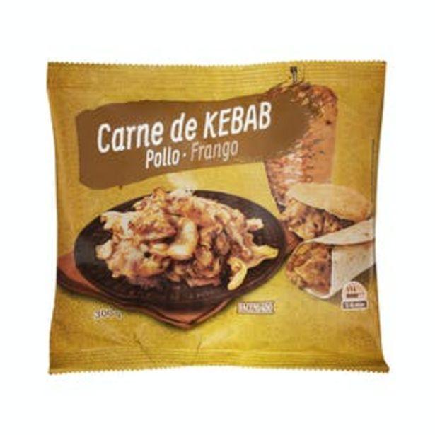 Oferta de Relleno para kebab con carne de pollo asado Hacendado ultracongelado por 2,6€