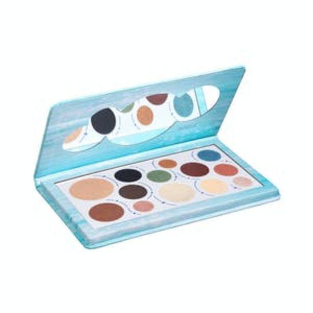 Oferta de Paleta sombras ojos resistente al agua Deliplus Beauty eyes por 8,5€