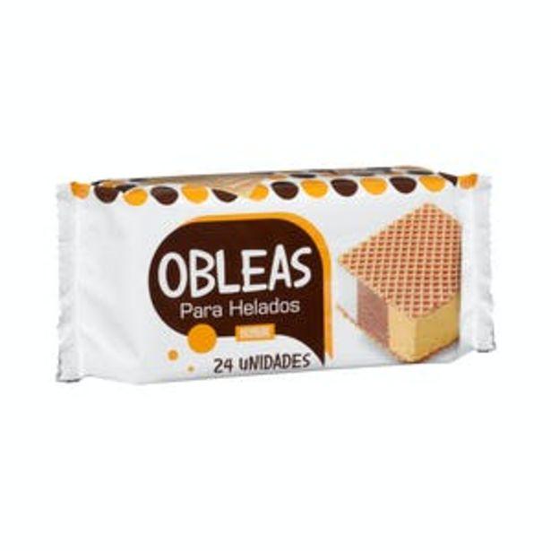 Oferta de Obleas para helado Hacendado por 0,4€