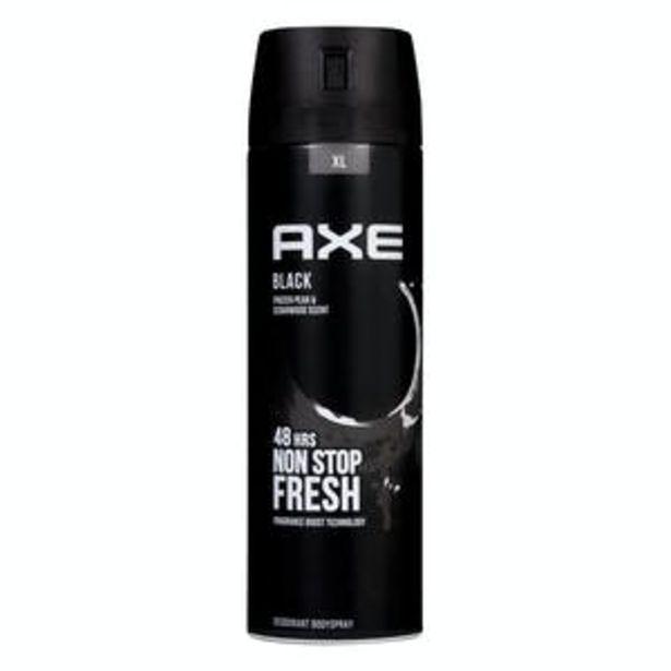 Oferta de Desodorante hombre Black XL Axe por 3,75€