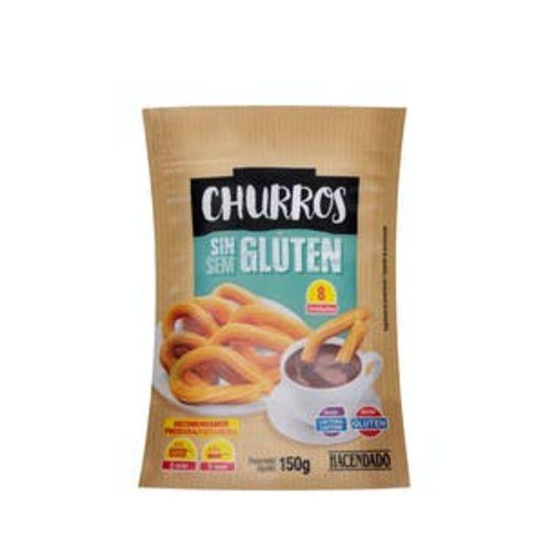 Oferta de Churros sin gluten Hacendado ultracongelados por 2,6€
