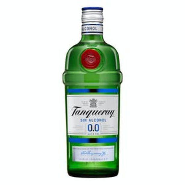 Oferta de Bebida 0,0% sin alcohol Tanqueray London dry por 13,5€