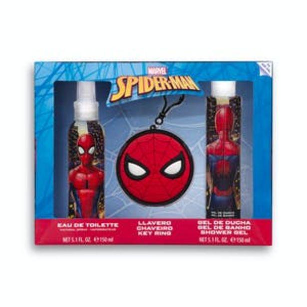 Oferta de Lote infantil Marvel Spiderman por 8€