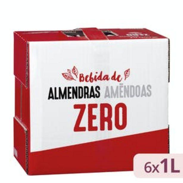 Oferta de Bebida de almendras zero Hacendado por 8,4€
