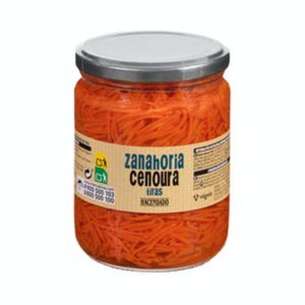 Oferta de Zanahoria en tiras Hacendado por 0,75€
