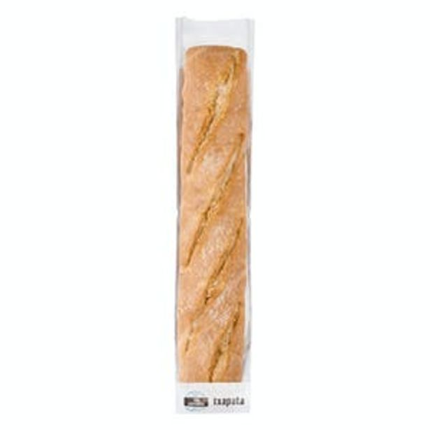 Oferta de Barra de pan chapata por 1€