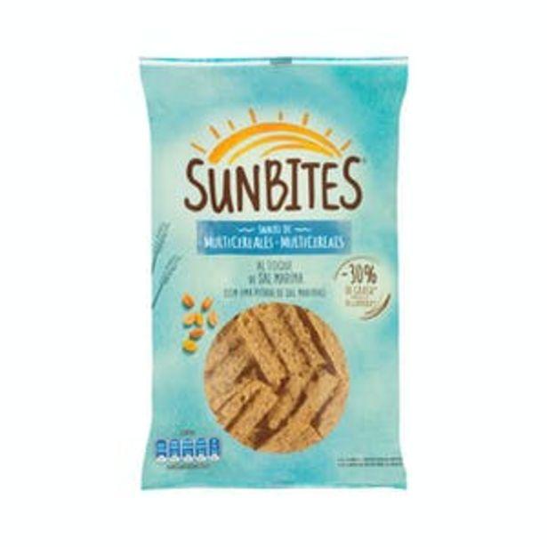Oferta de Snack de multicereales Sunbites por 1,5€