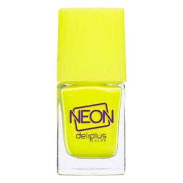 Oferta de Laca de uñas Neon Deliplus 987 amarillo por 2,5€