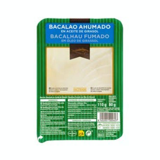 Oferta de Bacalao ahumado Hacendado en aceite de girasol por 2,3€