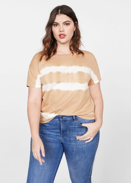 Oferta de Camiseta beige por 12,99€