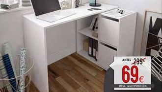 Oferta de Mesa de estudio por 69€