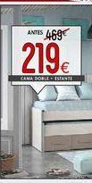 Oferta de Cama doble por 219€
