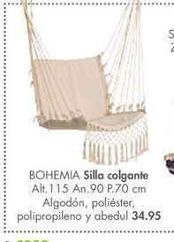 Oferta de Silla columpio BOHEMIA por 34,95€