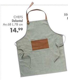 Oferta de Delantal por 14,99€