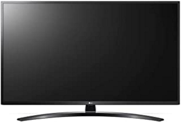 Oferta de LG - Tv Led 108 Cm (43 ) Lg 43Um7450 4K Hdr Smart Tv Works With Alexa y Con Inteligencia Artificial (Ia) por 473,53€