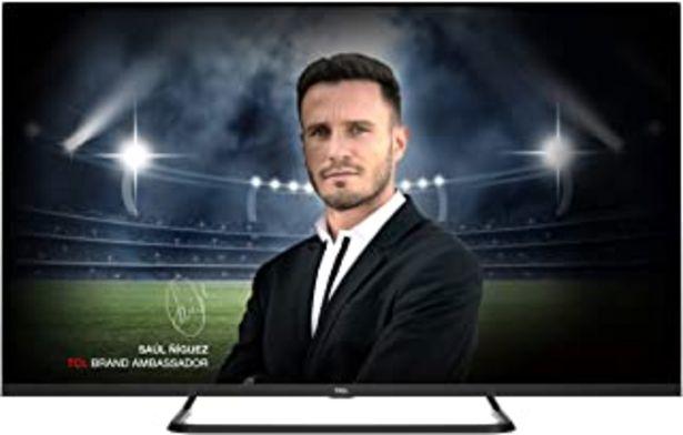Oferta de TCL 55EP680 Televisor de 139cm (55 pulgadas), Smart TV con Resolución 4K UHD, HDR10+, Micro Dimming Pro, Alexa, Android TV... por 539,91€