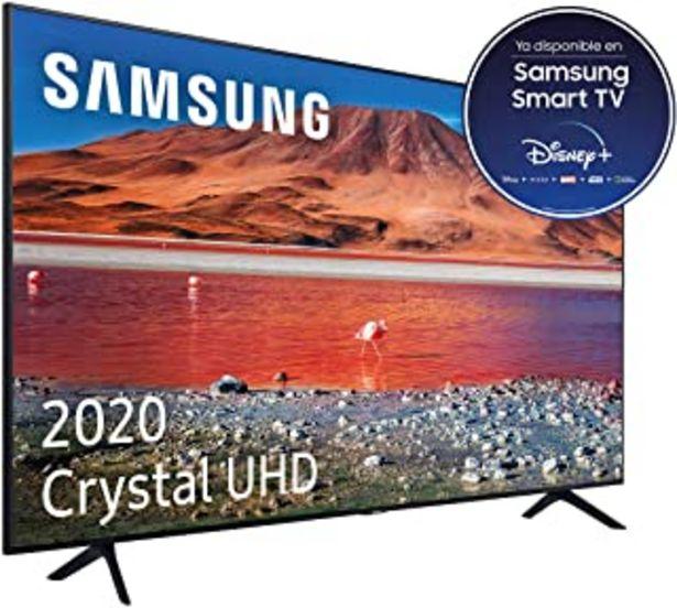 """Oferta de Samsung Crystal UHD 2020 43TU7005- Smart TV de 43"""", Resolución 4K, HDR 10+, Crystal Display, Procesador 4K, Función One Re... por 349,99€"""