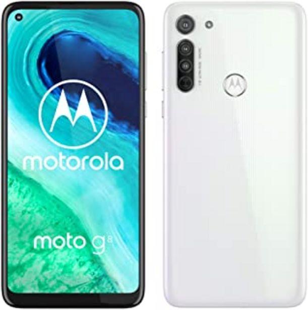 "Oferta de Motorola Moto G8 (Pantalla de 6,4"" HD+ o-notch, 4G, Qualcomm Snapdragon SD665, Sistema de cámara triple, 64 GB, 4 GB RAM, ... por 169,9€"
