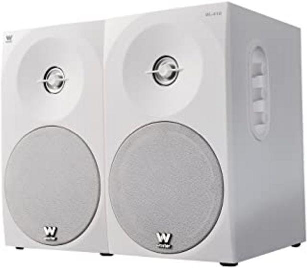 Oferta de Woxter Dynamic Line 410 – Altavoces estéreo 2.0 Autoamplificados con 150W de potencia, Madera, Woofer de 4 pulgadas, 2 Twe... por 45,99€