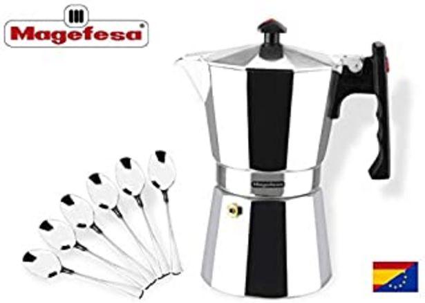 Oferta de MAGEFESA Colombia – La cafetera MAGEFESA Colombia está Fabricada en Aluminio Extra Grueso. Pomo y Mangos ergonómicos de ba... por 15,99€