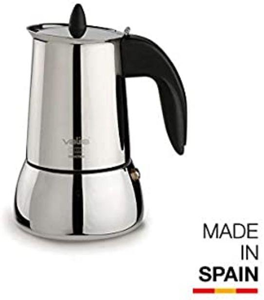 Oferta de Valira | Isabella | Cafetera apta para inducción | 4 tazas, Acero 18/10 por 28,86€
