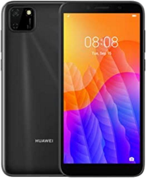 Oferta de Huawei Y5P - Smartphone 32GB, 2GB RAM, Dual Sim, Midnight Black por 80,91€