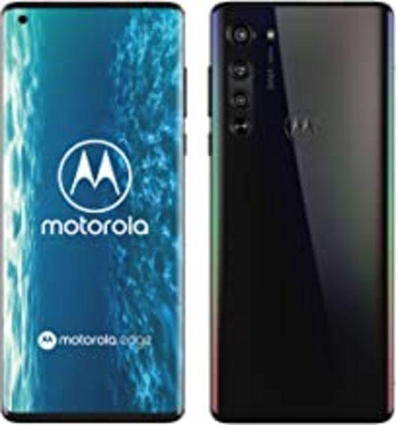 "Oferta de Motorola Edge - Smartphone de 6.7"" FHD+ (5G, Pantalla Curva o-Notch 90 Grados, procesador Qualcomm Snapdragon SM7250, cámara 64 MP, batería 4500 mAH, Dual SIM, 6/128 GB, Android 10) Negro por 525€"
