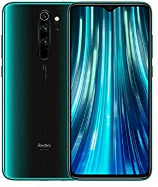 "Oferta de Redmi Note 8 Pro– Smartphone con pantalla 6,53"" FullHD+ (Cuatro cámaras de 64 + 8 + 2 + 2 MP, frontal 20 MP, 4500 mAh, Jac... por 229€"