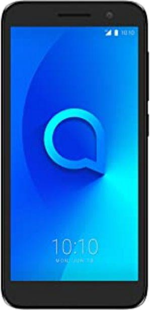 "Oferta de Alcatel 5033D 1 2019, Smartphone - Pantalla 5"" - Cámara trasera 5MP y frontal (selfie) 2MP - Memoria 8GB ROM + 1 RAM - Negro por 40,5€"