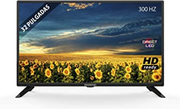 "Oferta de TV LED INFINITON 32"" INTV-32 HD Ready - Reproductor y Grabador USB, 3X HDMI por 109,9€"