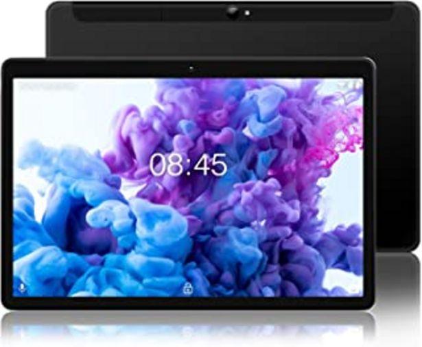 Oferta de Tablet Android 10.0 - MEBERRY Tableta 10 Pulgadas Ultrar-Rápido : 4GB RAM+64GB ROM - Certificación Google gsm - Dual SIM &... por 105,98€