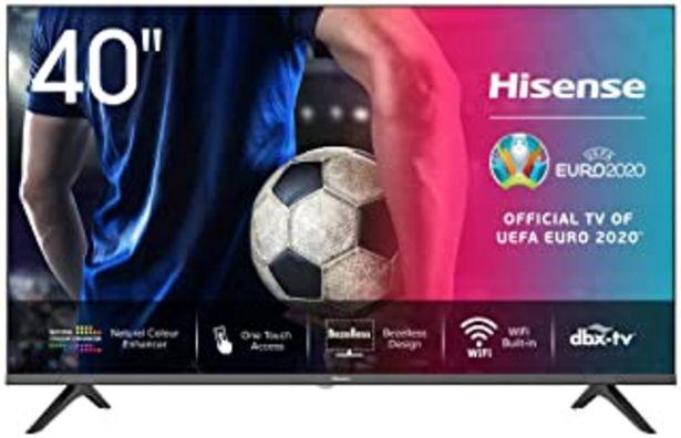 Oferta de Hisense FHD TV 2020 40AE5500F - Smart TV Resolución Full HD, Natural Color Enhancer, Dolby Audio, Vidaa U 2.5 con IA, HDMI... por 289€